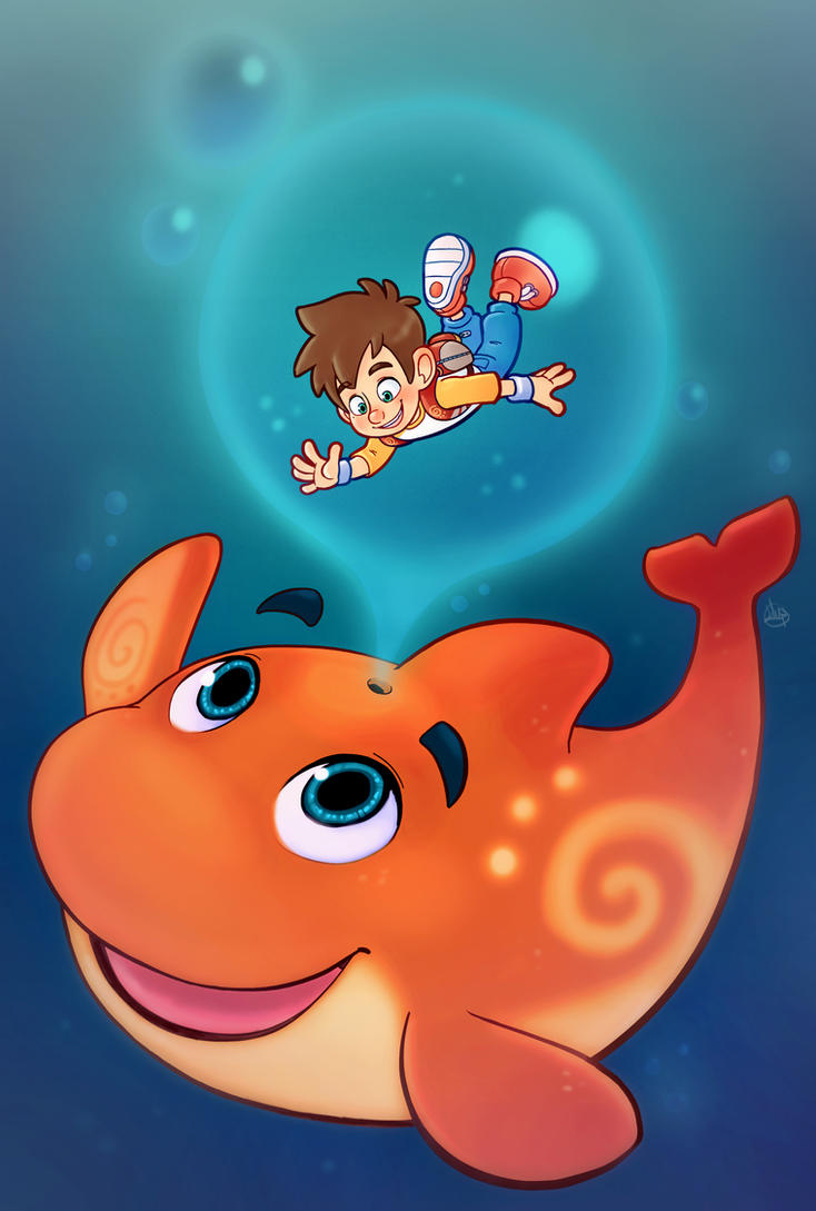Underwater Bubbles by LuigiL