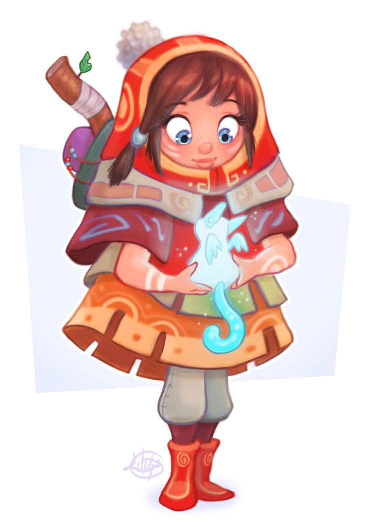 Spirit Friend by LuigiL