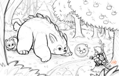 Making Friends Sketch