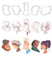 Shape Challenge December 2014 by LuigiL