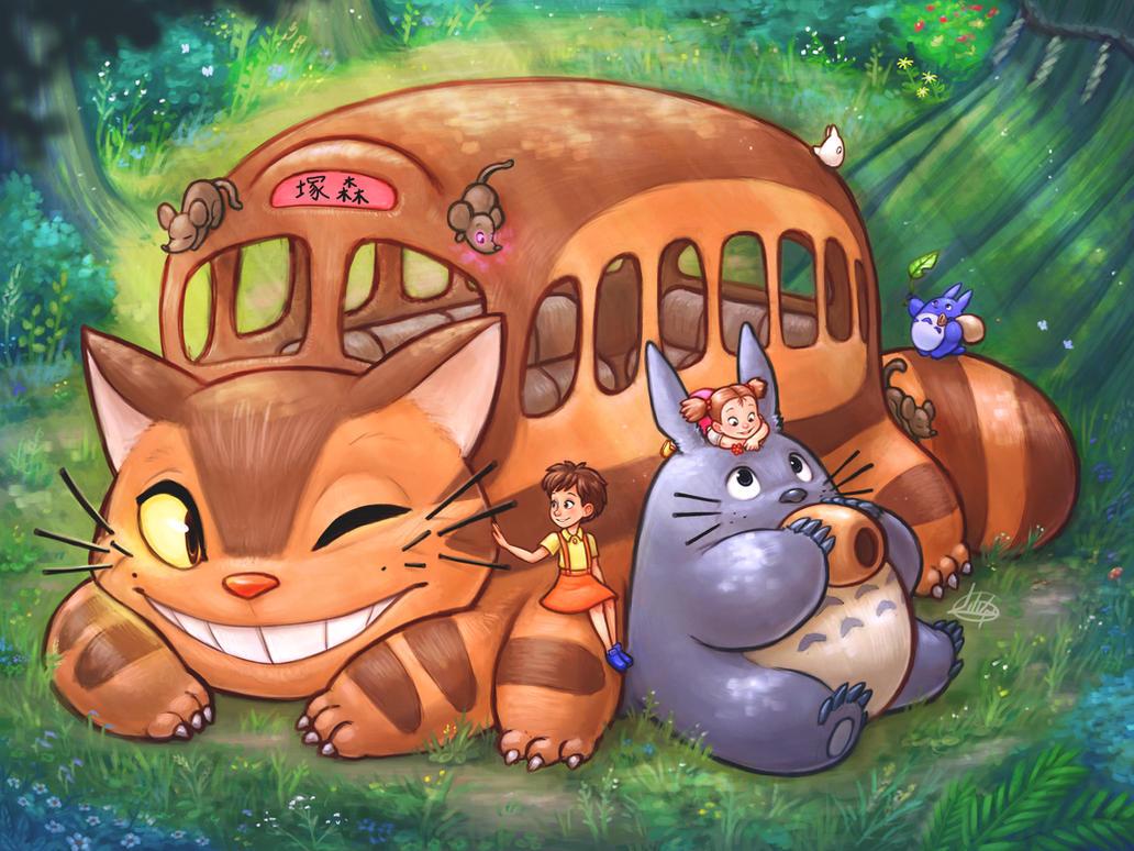 Tonari no Totoro by LuigiL