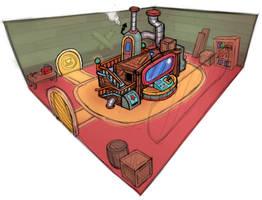 Machine Room Concept by LuigiL