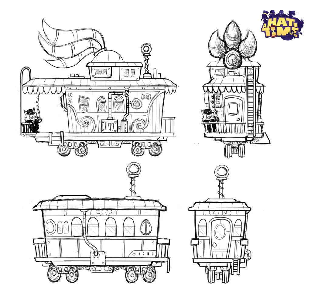 Train End and Cabin Concepts