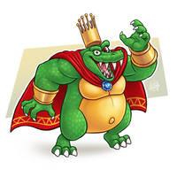 Day 17- King K Rool by LuigiL
