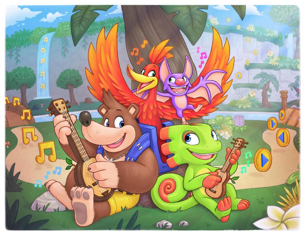 New Friends by LuigiL