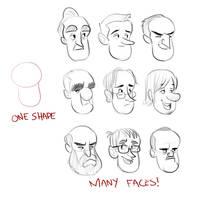 Break Time Sketches 8-10-15 by LuigiL