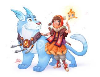 Spirit Friends by LuigiL
