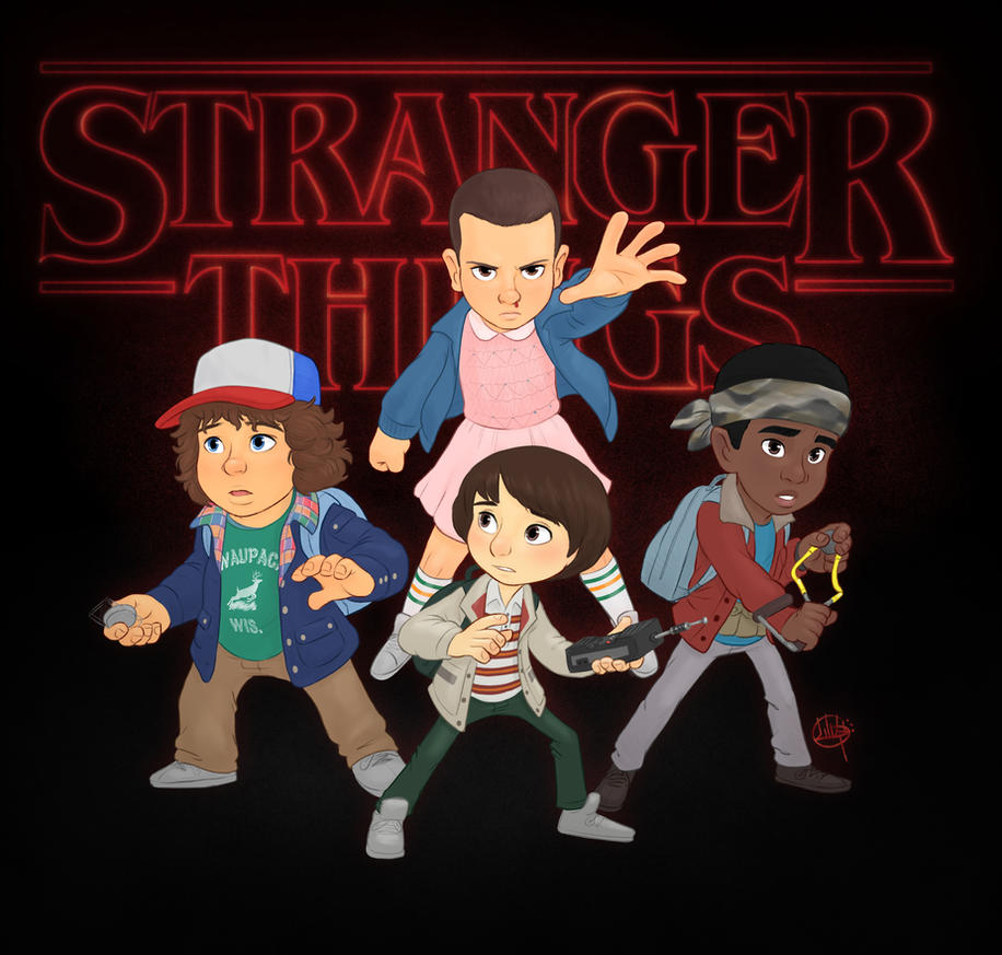 Stranger Things by LuigiL