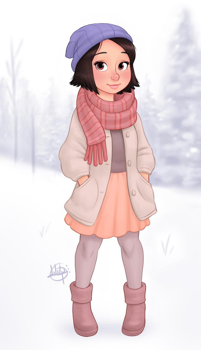 Snowy Day by LuigiL