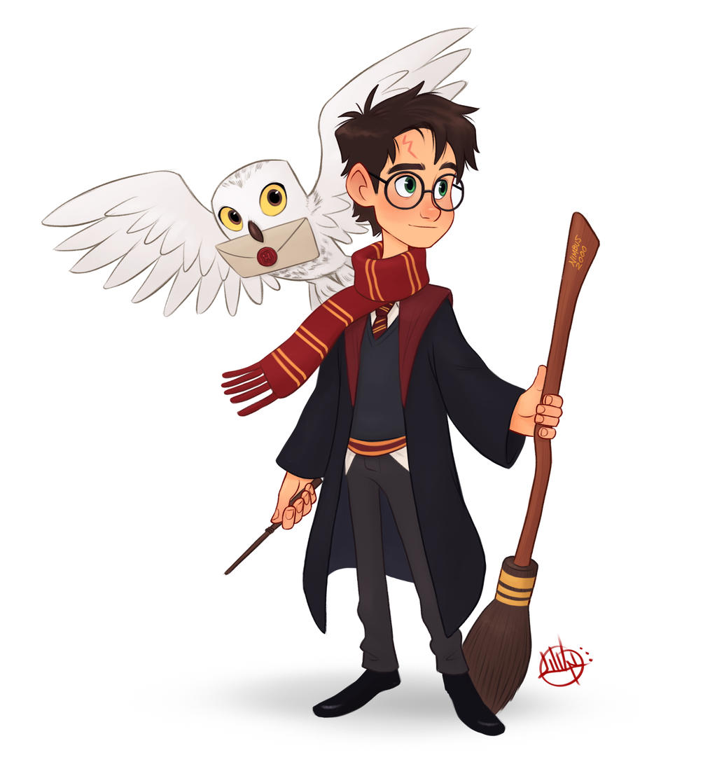 Harry potter by luigil on deviantart