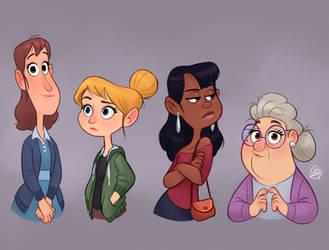 Ladies by LuigiL