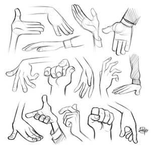 Procreate Hand Sketches