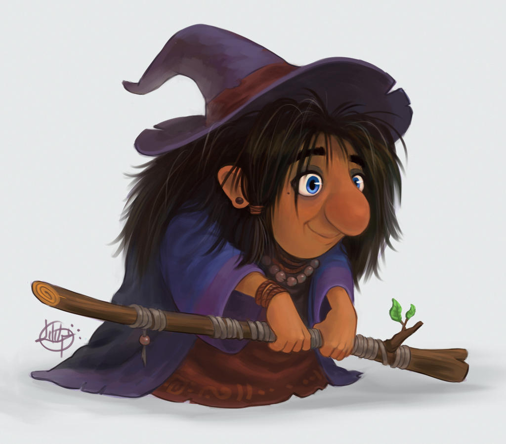 Little Witch by LuigiL