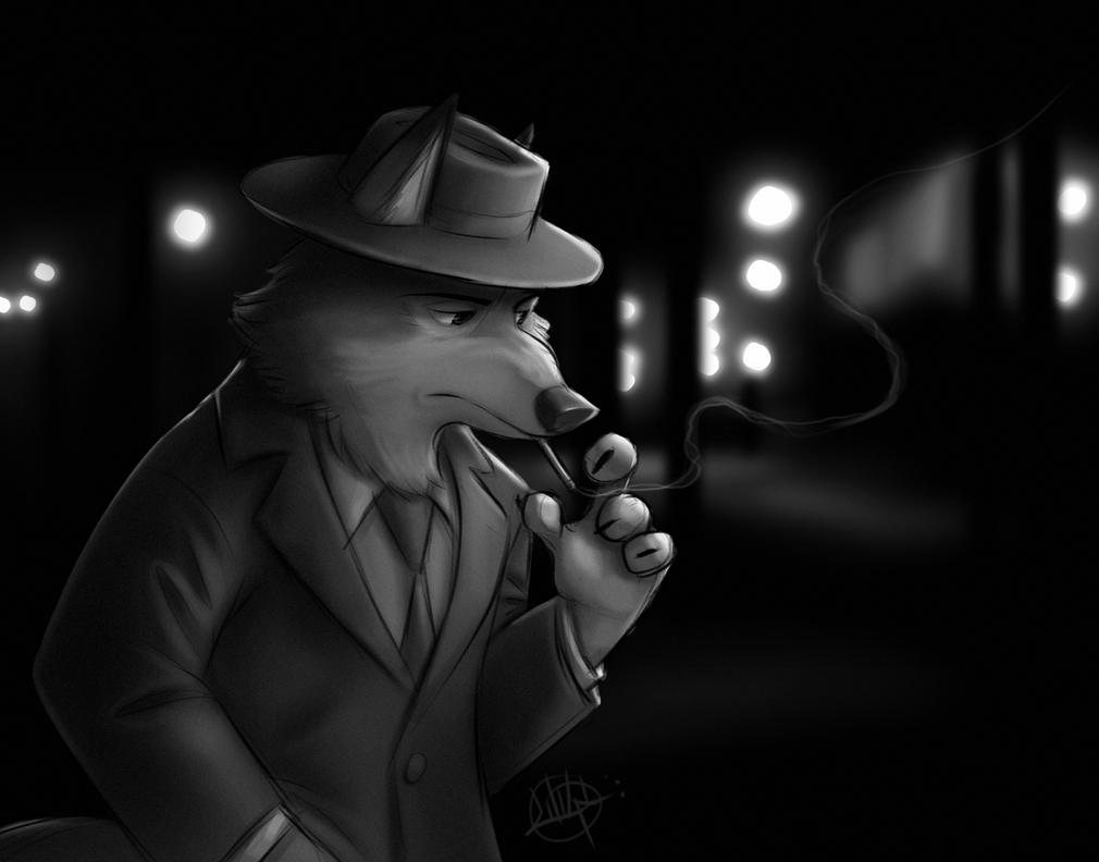 Noir Wolf by LuigiL