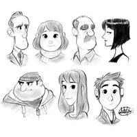 Procreate Cooldown Sketches 2 by LuigiL