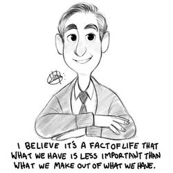 Mister Rogers Sketch by LuigiL