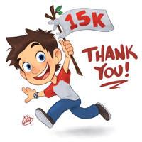 15K Instagram Thank You
