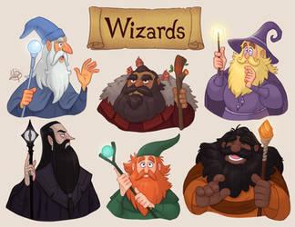 Wizards by LuigiL