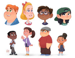 Random Characters 4 by LuigiL