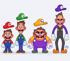 Mario Party by LuigiL