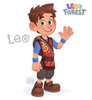 Leo's New Look by LuigiL