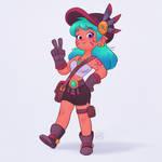 Cool Adventure Girl