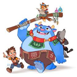 Treasure Hunting by LuigiL