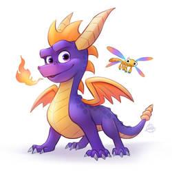 Spyro Reignited by LuigiL
