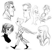 Sketches 3 by LuigiL