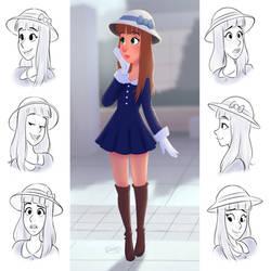 Pretty Lady by LuigiL