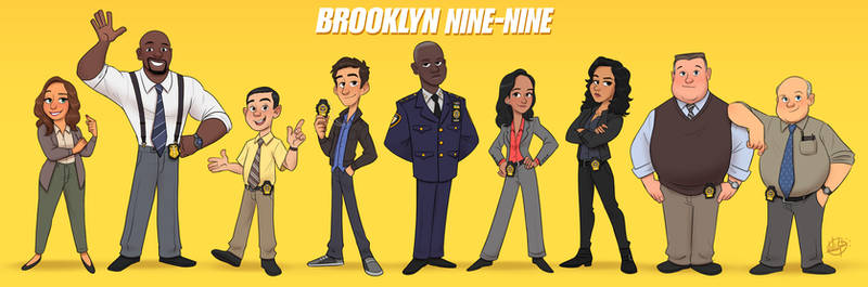 Brooklyn Nine Nine Line Up