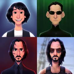 Reeves Roles by LuigiL