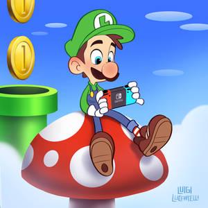 Luigi Switch Break