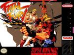 Fatal Fury SNES box cover