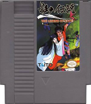 NES Legend of Kage Cartridge