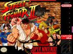 Street Fighter 2 SNESbox cover