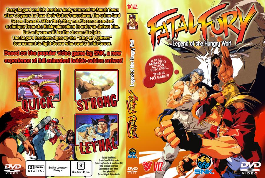 Fatal Fury Dvd Cover By Hellstinger64 On Deviantart
