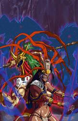 The brave Chiapa Warriors by Hellstinger64