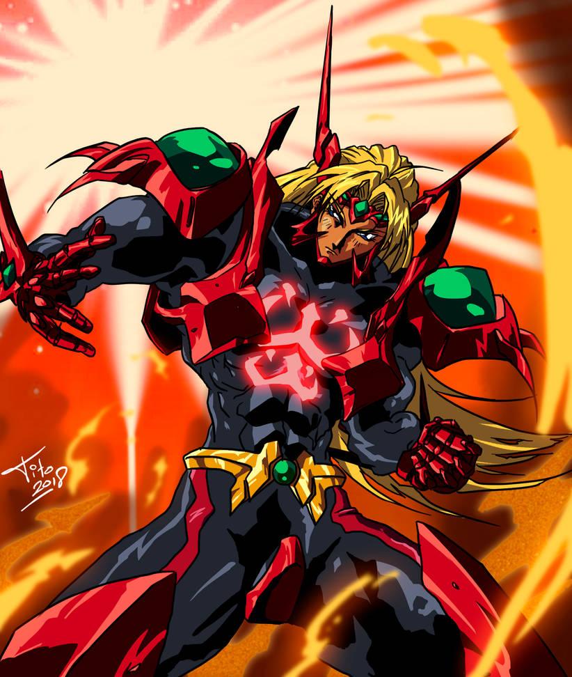 Burnin' Hero by Hellstinger64