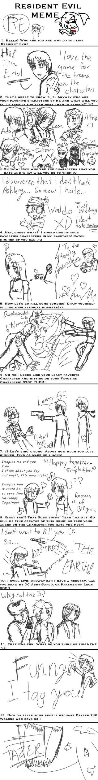 Resident Evil Meme filled by LanceDarkness