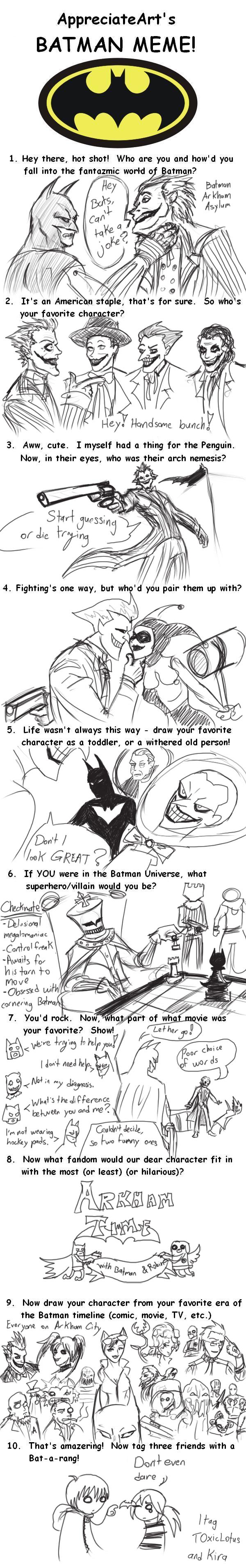 The Batman Meme by LanceDarkness