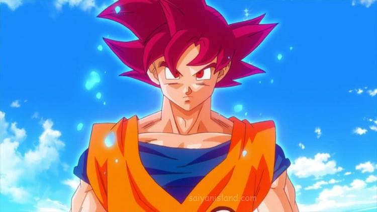 Goku ssj god by tikitimami on deviantart - Sangoku super saiyan god ...