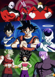 Dragon Ball Super Poster Universe Survival by robertDB
