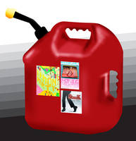 Gallon gas container by romique