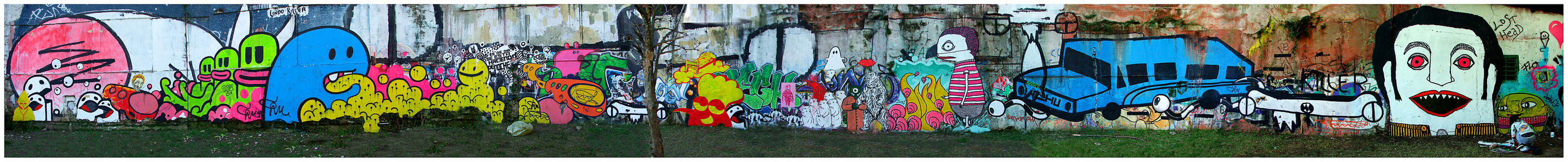 pan grafittie by romique