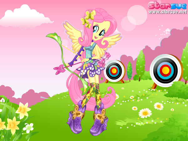 My Little Pony Equestria Girls - Fluttershy Archery Style