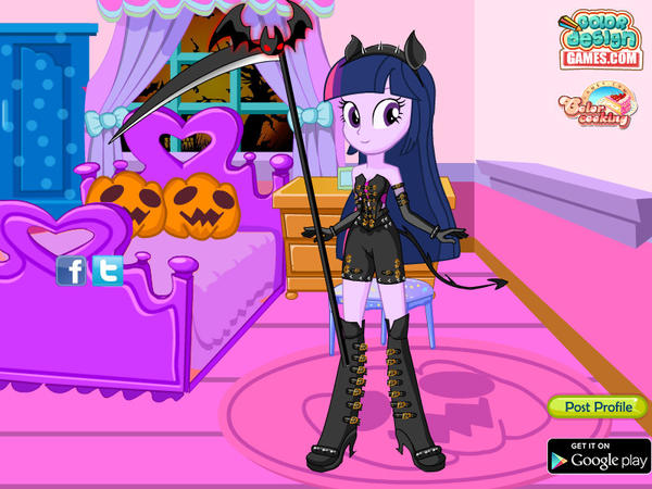 twilight_sparkle_halloween_by_kimpossibl