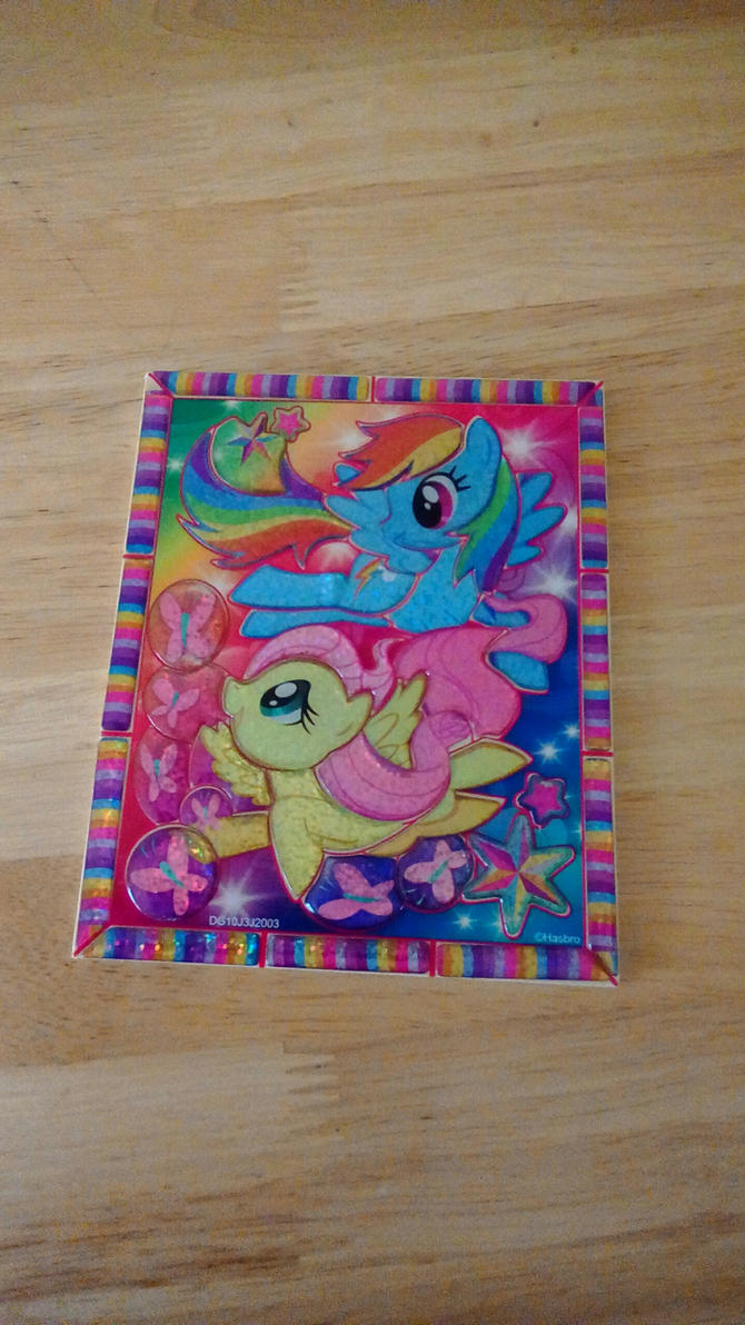 MLP Crystal Puzzle by kimpossiblelove
