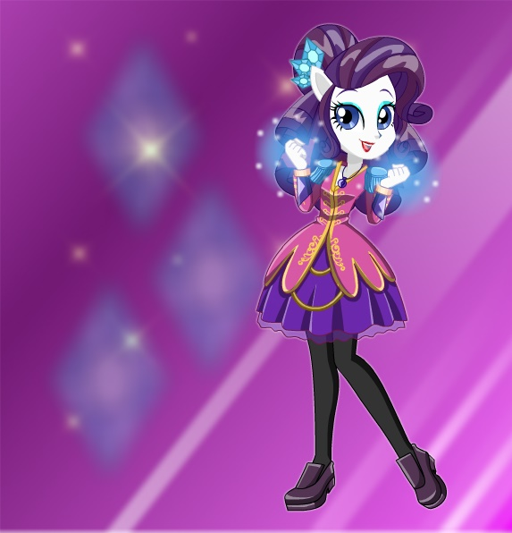 Musketeer Rarity by kimpossiblelove