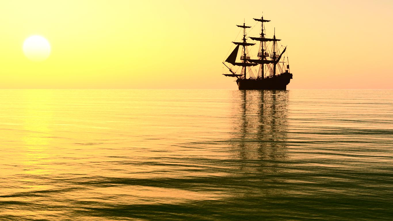 Pirate ship iphone wallpaper - photo#17